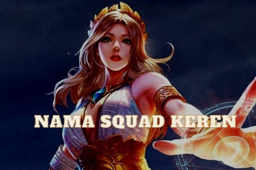 Nama Squad Keren